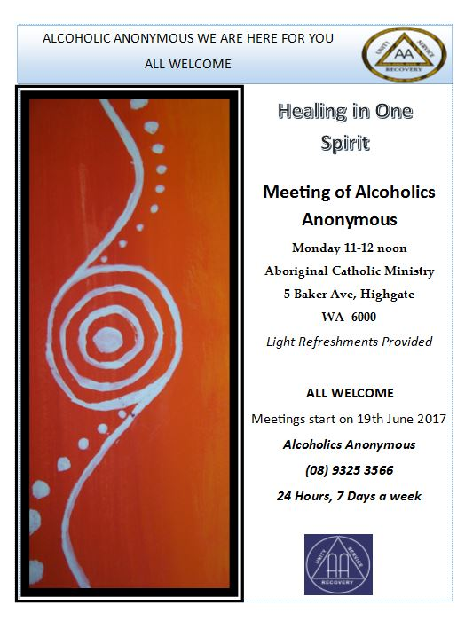 a description of the importance of attending alcoholics anonymous meetings
